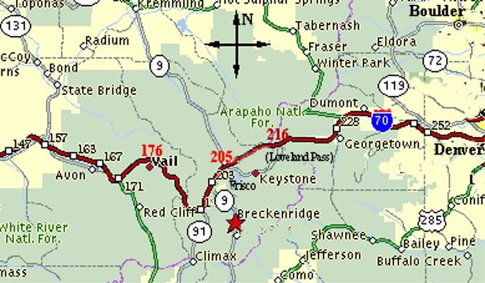 I 70 Colorado Map | compressportnederland